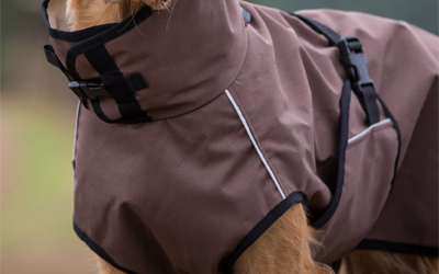 actionfactory ACTIVE cape LIGHT Hundemantel, braun