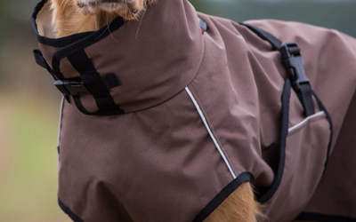 Hundemantel ACTIVE cape LIGHT mini, brown