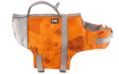Hurtta Schwimmweste Life Savior, orange/camouflage