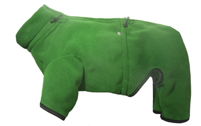 iqo Thermo-Fleece Hundeoverall XW, grün