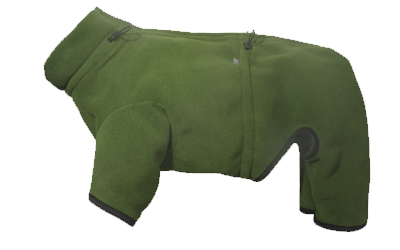 iqo Thermo-Fleece Hundeoverall XW, moos