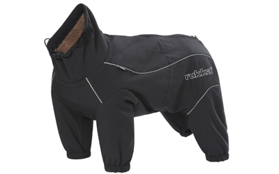 rukka Thermal Hundeoverall, black
