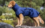WIND & RAIN Regenjacke ACTIVE cape, dark blue