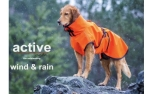 WIND & RAIN Regenjacke ACTIVE cape, orange