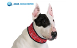 Aqua Cool Keeper Cooling Collar, red western