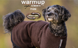 DRYUP Hundemantel Warmup-Cape CLASSIC Mini, brown