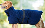 DRYUP Hundemantel Warmup-Cape PLUS, dark blue