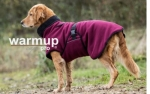 Dryup Warmup Cape Pro Hundebademantel bordeaux