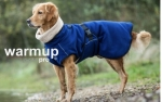 Dryup Warmup Cape Pro Hundebademantel dark blue