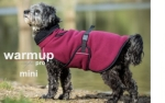 Dryup Warmup Cape Pro Mini Hundebademantel bordeaux