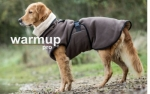 Dryup Warmup Cape Pro Hundebademantel mocca