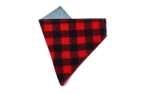 Found My Animal Vintage Denim & Buffalo Plaid Bandana für Hunde