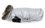 Hundemantel Wolters Parka, silber