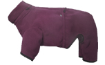 iqo Hundeoverall aus Softshell, berry