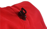 iqo Hundeoverall aus Softshell, rot