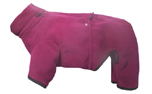 iqo VXf Hundeoverall Softshell (Softface), cranberry/granit