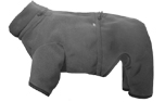 IQO Hundeoverall aus Thermofleece, granit