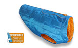 Kurgo Hundemantel Loft Dog Coat, blau/orange