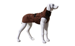 Stock & Stein Wear Hundejacke Rainmaster, chocolate