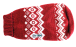 Wolters Cat & Dog Norweger Strickpullover, rot